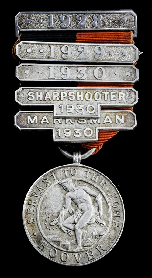594 - The 'Hoover War Medal' 1928 silver, hallmarks for