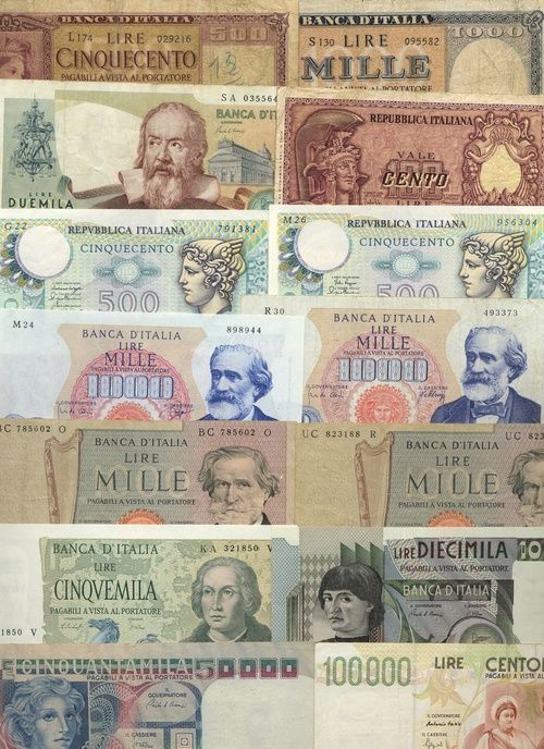 184 Banca Ditalia 500 Lire 1947 Pick 80a 82 83 92a 94 95