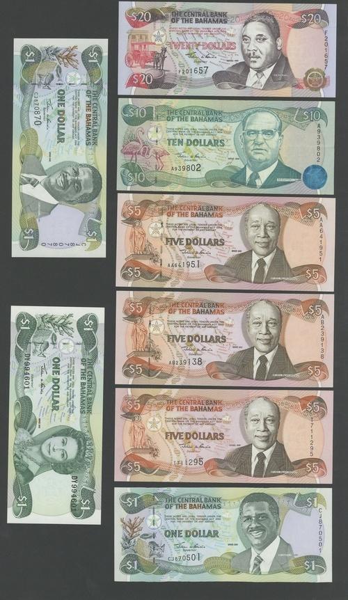1997 Gem UNC Bahamas P-65 $20