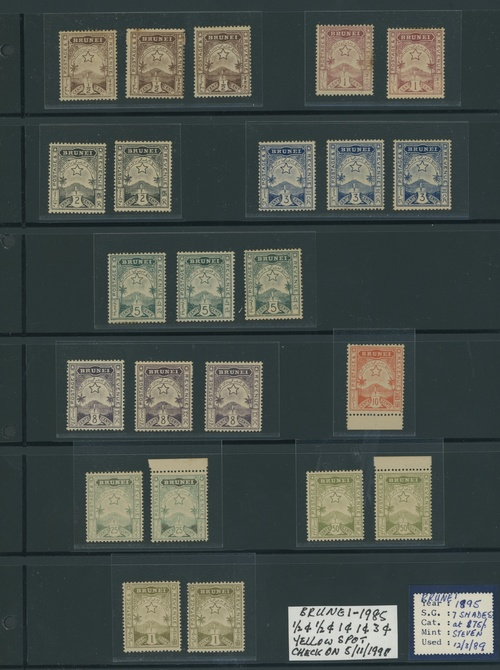 British Borneo Stamps and Covers - conducted behind closed doors
